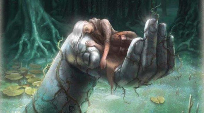 Detalle de la portada de Escape Tales Vastagos de Wyrmwood