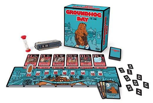 Componentes de Groundhog Day The game