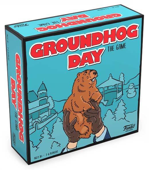 Portada de Groundhog Day The game