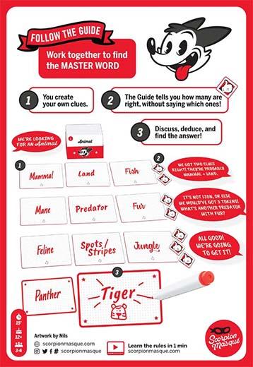 Guia de juego de Master Word