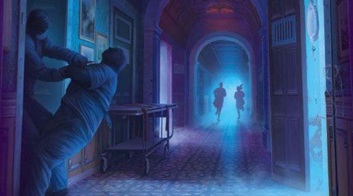 Detalle de la portada de El Misterio del Dr. Dark