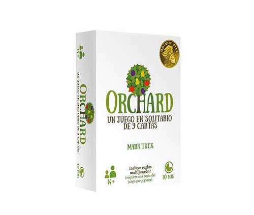 Portada del juego de tablero Orchard
