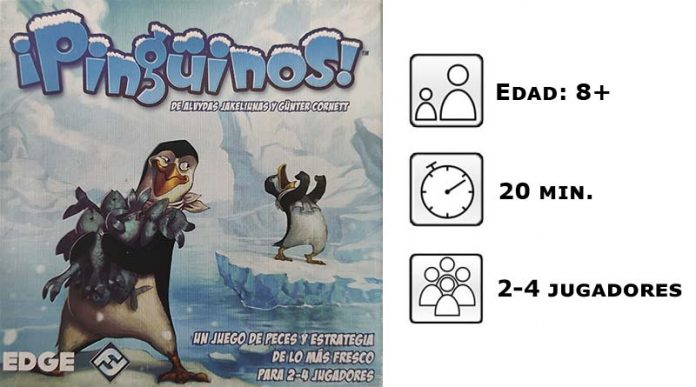 Datos del juego de mesa Pingüinos