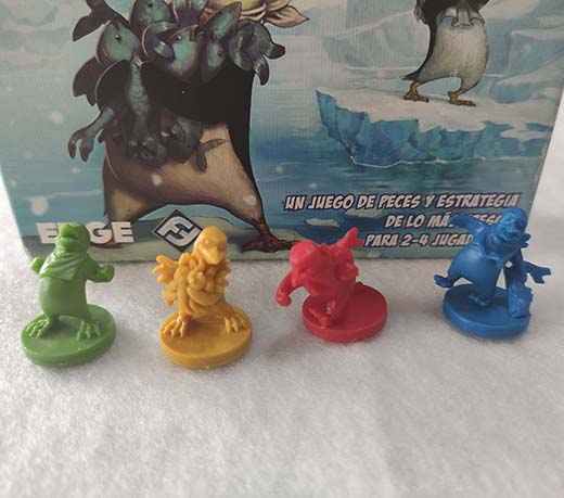 Detalles de las miniaturas de Pingüinos