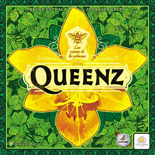 Portada del juego de mesa de Maldito Games Queenz