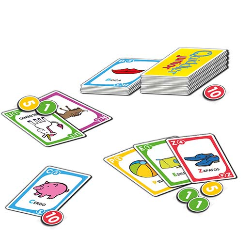 Cartas de Quiddler Junior