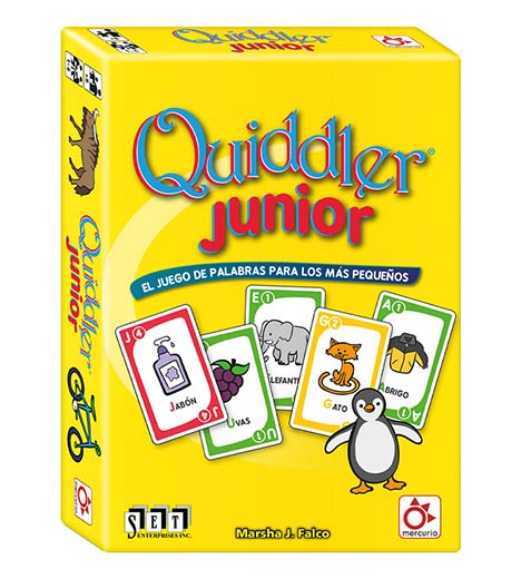 Portada de Quiddler Junior