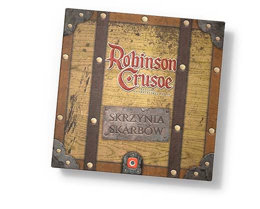 Portada de la expansión Robinson Crusoe Treasure Chest
