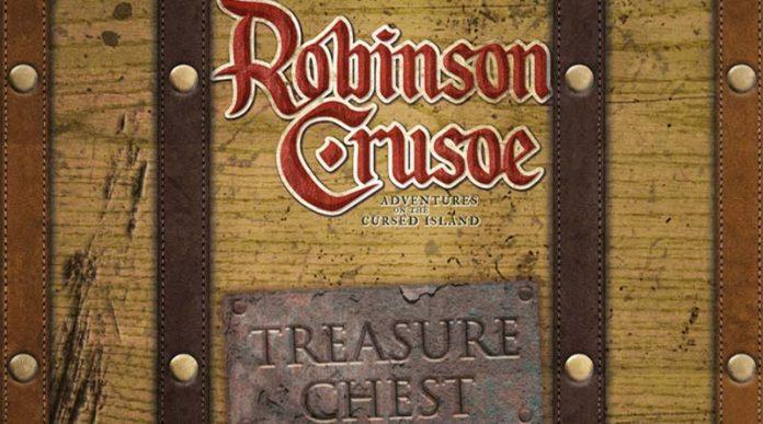 Logotipo de la Expansión Robinson Crusoe Treasure Chest