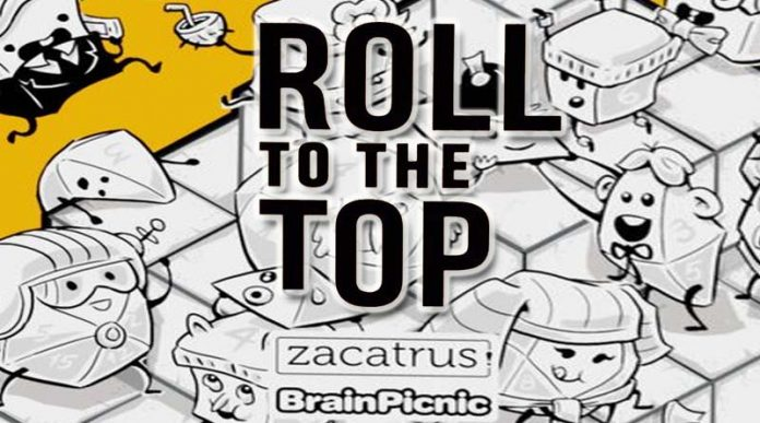 Logotipo de Roll to the top