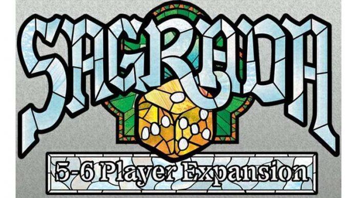 Logotipo de Sagrada expansión para 5-6 jugadores