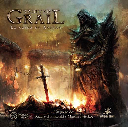Portada de Tainted Grail La Caída de Avalon