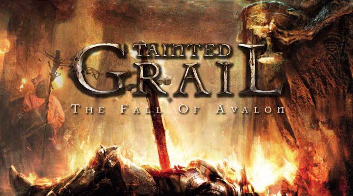 Logotipo de Tainted Grail La Caída de Avalon