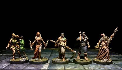 Miniaturas de Tainted Grail La Caída de Avalon