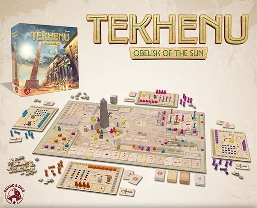 Componentes de Tekhenu el obelisco del sol