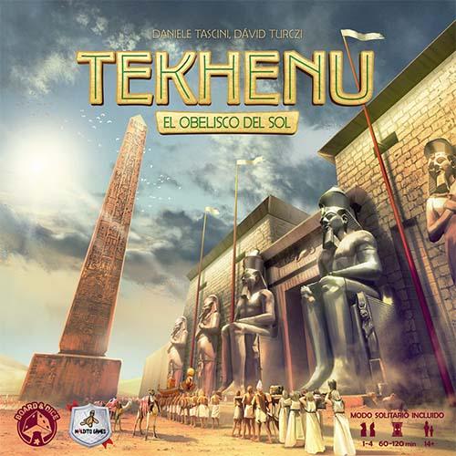 portada de Tekhenu el obelisco del sol