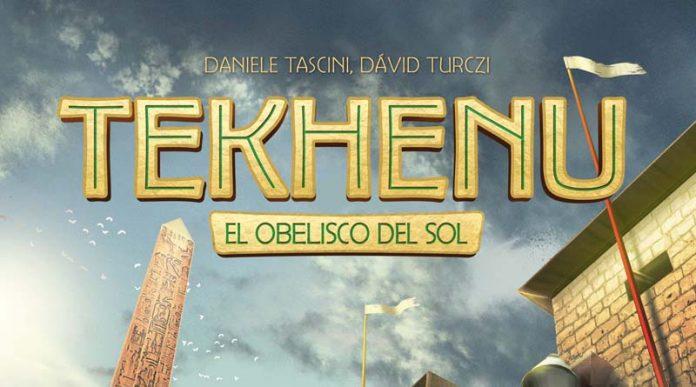 Logotipo de Tekhenu el obelisco del sol