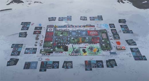 Componentes de The Thing: The boardgame