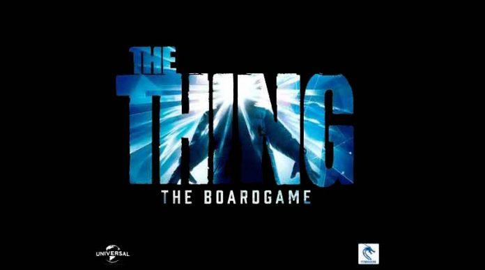 Portada de The Thing: The boardgame