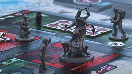 Miniaturas de The Thing: The boardgame