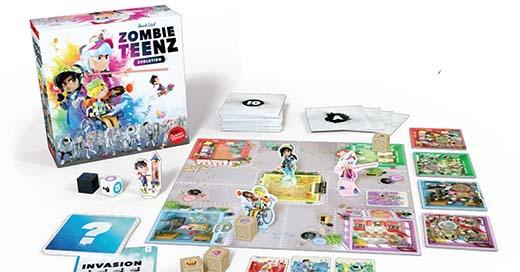 componentes de Zombie Teenz Evolution