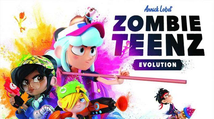 Portada de Zombie Teenz Evolution