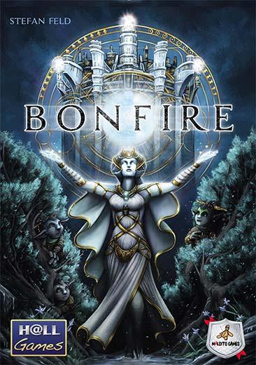 Portada en castellano de Bonfire