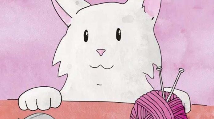 Detalle de la portada de Cat Lady