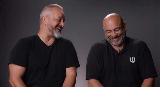 Chris Metzen y Mike Gilmartin de Warchief Gaming