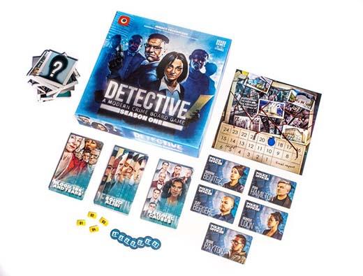 componentes de detective temporada 1