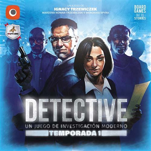 Portada de detective temporada 1