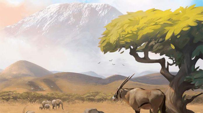 Detalle de la portada de Ecos First Continent