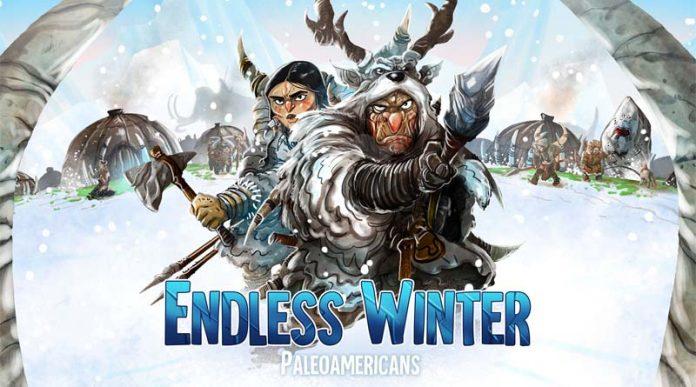 detalle de la portada de Endless Winter Paleoamericans