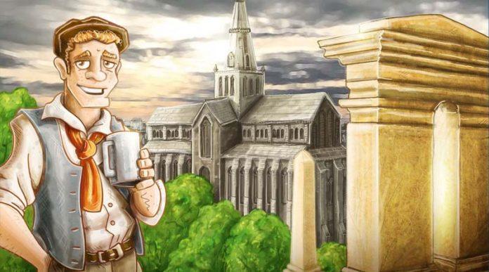 Detalle de la portada del juego Glasgow