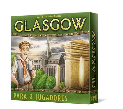 Portada del Juego de Tablero Glasgow