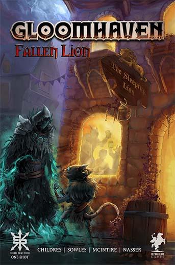 Portada del Comic Fallen Lion