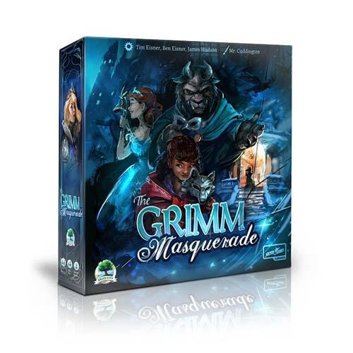 Portada de The Grimm Masquerade