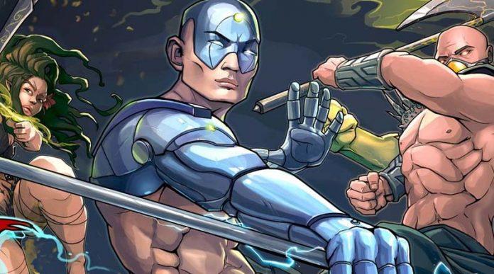 Arte de la portada de Knockdown