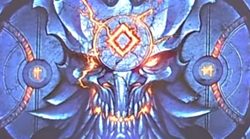 Detalle del arte de la portada de descent legends of the dark