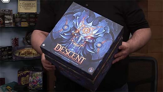 Portada de Descent Legends of the dark