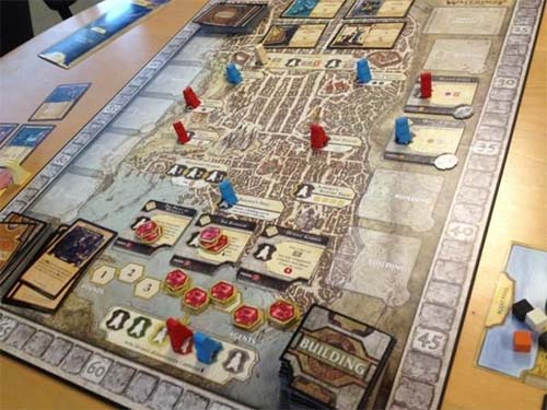 Partida a Lords of Waterdeep