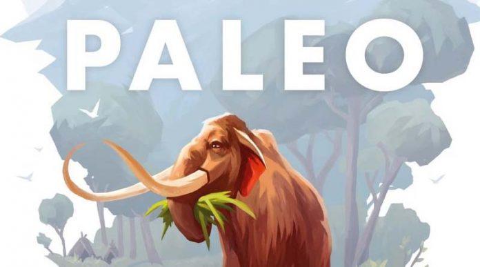 Detalle de la portada de Paleo