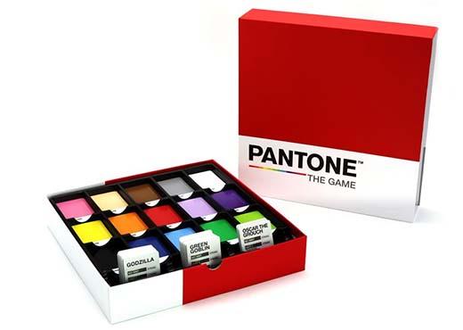 Componentes de Pantone the game
