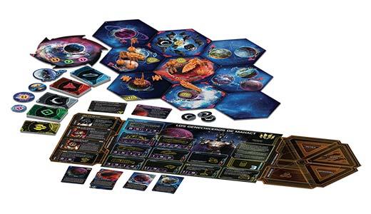 Componentes de la profecía de los reyes, expansión de Twilight Imperium cuarta edición