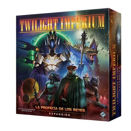 Portada de la profecía de los reyes, expansión de Twilight Imperium cuarta edición