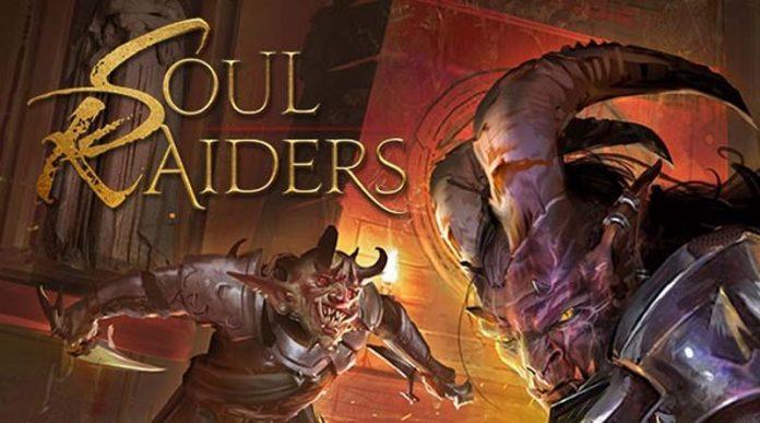 Arte del nuevo juego de emsa Soul Raiders