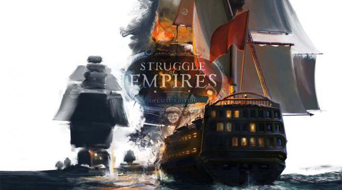 Arte grafico de Struggle of empires edición deluxe