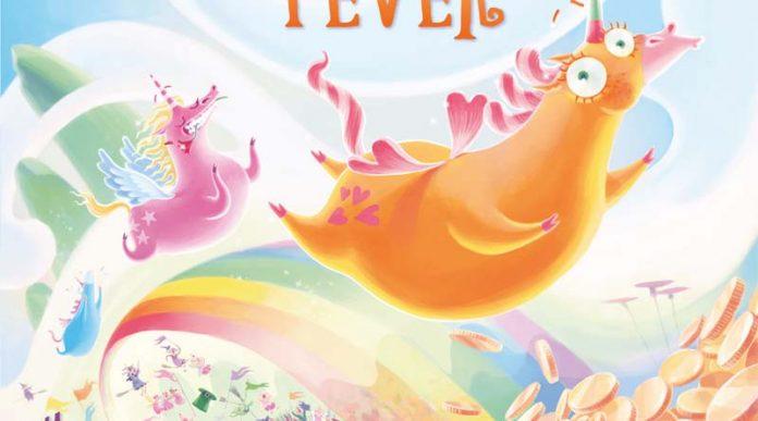DEtalle de la portada de Unicorn Fever