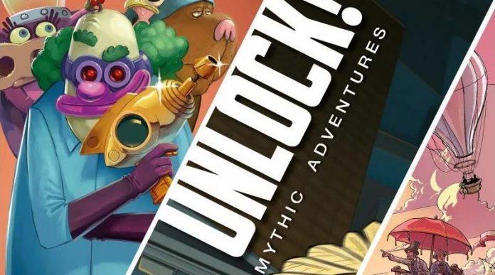 Detalle de la portada de Unlock! Mythic Adventures