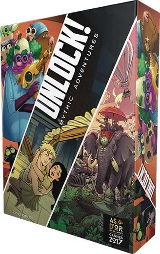 Portada de Unlock! Mythic Adventures